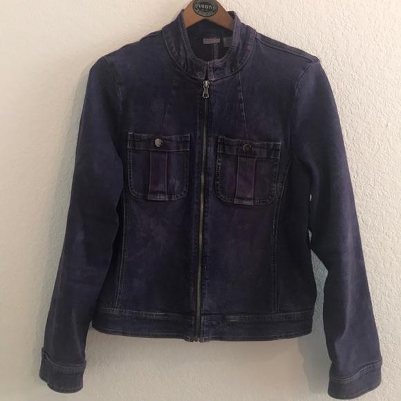 Rubbish Jackets & Blazers - Nordstrom Rubbish Cotton spandex purple denim